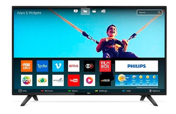 Smart Tv Led 32 Polegadas Philips 32phg5813 Hd Wi-fi 2 Usb 2