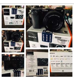 Cámara Sony A6000 24mpx Como Nueva