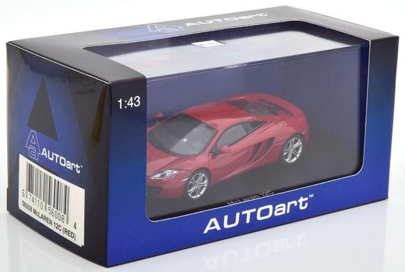 Mclaren Mp4 12c 2012 Autoart Escala 1/43