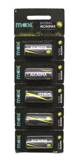 Bateria Alcalina Maxprint A23 5 Unidades - 12v