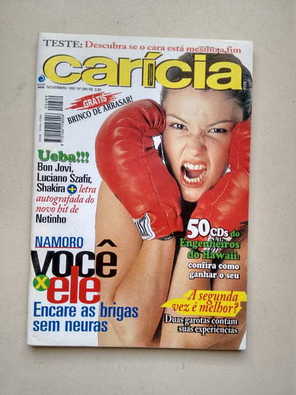 Revista Carícia 289 Bon Jovi Shakira Luciano Szafir C563