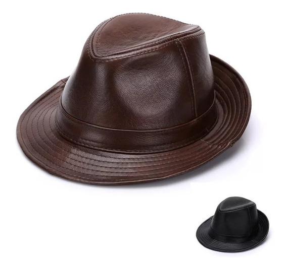 Sombrero Eco Cuero Invierno Sombrero Unisex Invierno Gorro