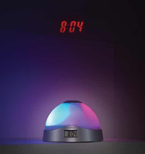 Luz Despertador Betterware Proyecta La Hora En El Techo