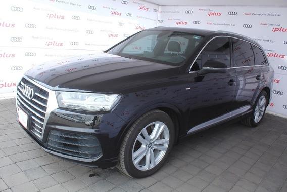 Audi Q7 S Line 3.0 Quattro Negro 2016