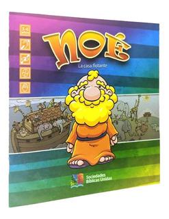 Porciones Bíblicas Dibujos Para Colorear Noé Integrador X 10