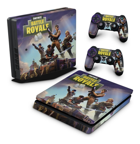 Skin Ps4 Slim Adesivo Play 4 Fortnite Battle Royale