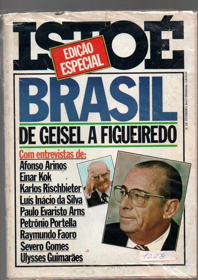 Revista Isto É Brasil De Geisel A Figueredo Ano 1979 Nº113