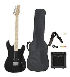 Tamaño Completo Guitarra Eléctrica Con Amplificador, Funda Y