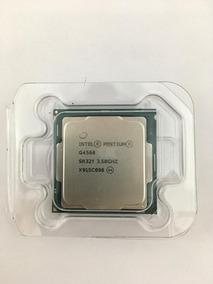 Kit 6pç Proc Intel Lga1151 Pentium G4560 3.5ghz *sem Cooler