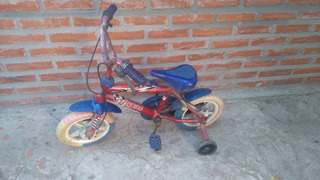Bicicleta Para Chicos Rueditas Rodado 12