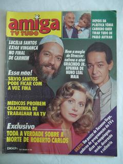 Revista Amiga Tv Tudo 934 Com Suplemento Semanal 1988 Bloch