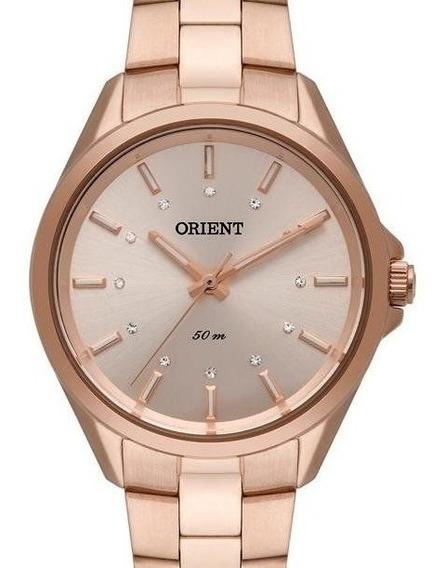 Relógio Orient Feminino Rose Gold Frss0046 R1rx