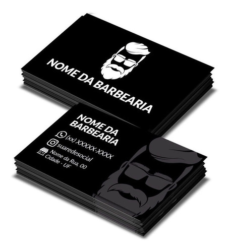 Cartão De Visitas- Barbearia Bom Preço