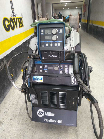 Soldadora Multiprocesos Pipe Worx 400 Amps