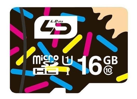 Cartão De Memória Micro Sdhc I 16gb Ld Classe 10 80m/s 540