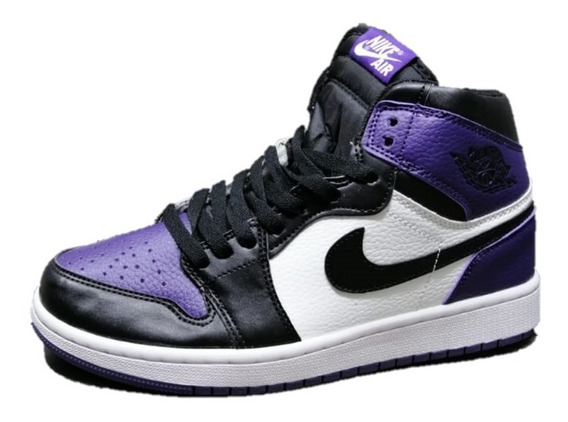 Tenis Sneakers Jordan 1 Chicago Purple Envio Gratis