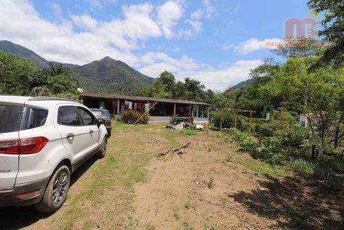 Chácara Com 3 Dormitórios, 1200 M² - Venda Por R$ 200.000,00 Ou Aluguel Por R$ 1.200,00/mês - Igrejinha - Itariri/sp - Ch0099