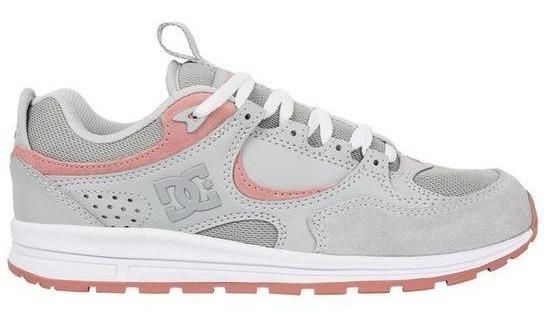 Tênis Dc Shoes Kalis Lite Grey Pink