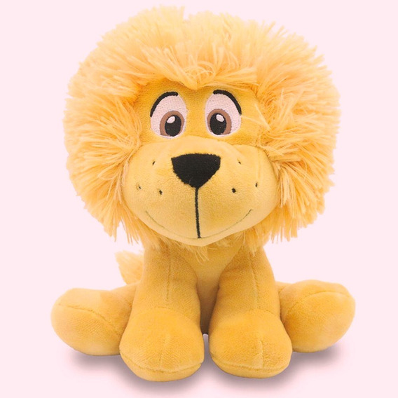 Leão De Pelúcia 35cm Safari Unik Toys
