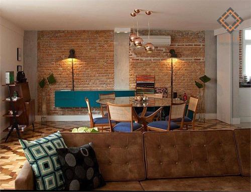 Imagem 1 de 8 de Apartamento Com 3 Dormitórios À Venda, 207 M² Por R$ 2.990.000,00 - Jardim Paulista - São Paulo/sp - Ap54621
