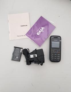 Celular Nokia 1208 B Vivo Sucata Para Concerto Ref: Q29.leia
