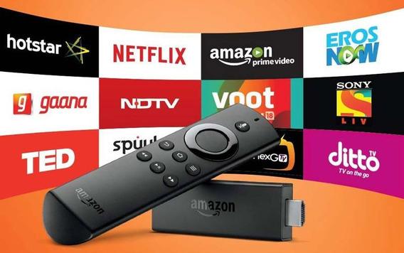 Control Fire Tv Stick Con Alexa Convierte Tv Hd A Smart Tv