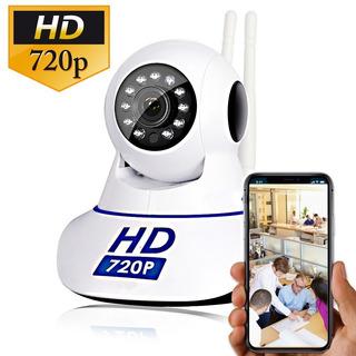 Cámara Robótica Wifi Ip Hd Seguridad Visión Nocturna 128gb