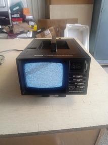 Tv E Radio Portatil Antiga Funcionando Bem