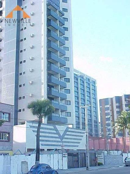 Apartamento Com 1 Quarto Para Alugar, 40 M² Por R$ 1.595/mês - Av. Boa Viagem- Recife/pe - Ap1969