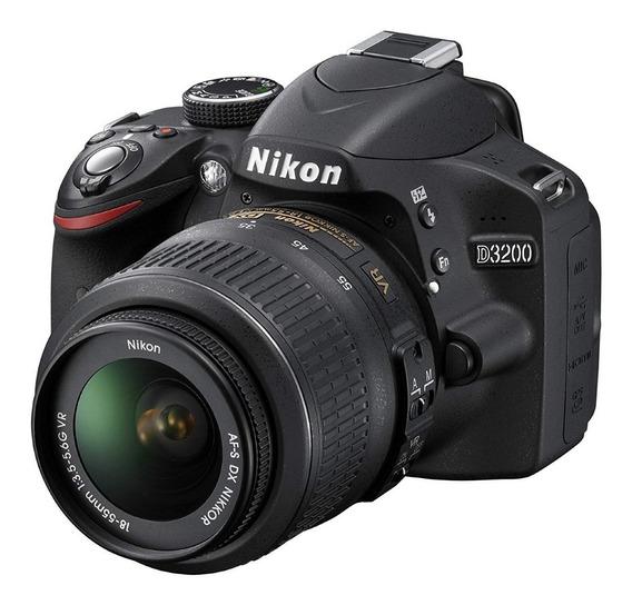Nikon D3200 2 Lentes Kit Completo
