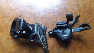 Shifters Xt M8000 Y Descarrilador 2x11