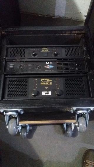 Amplificador Potencia Mea Audio M3 Profissional