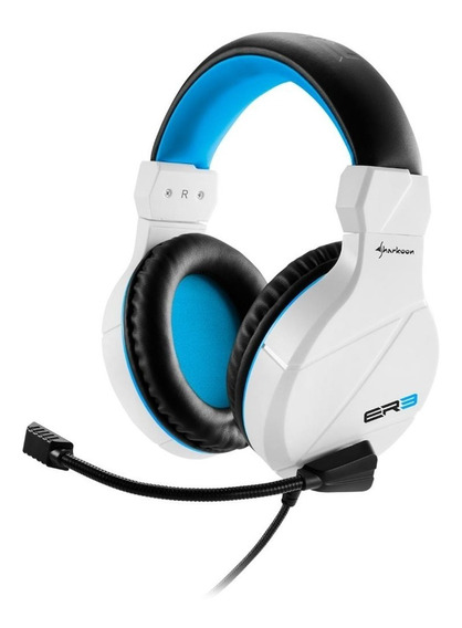 Headset Gamer Sharkoon Branco Rush Er3