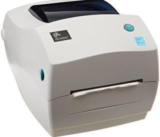 Impresora Etiquetas Código De Barras Zebra Gc-420t Gk420