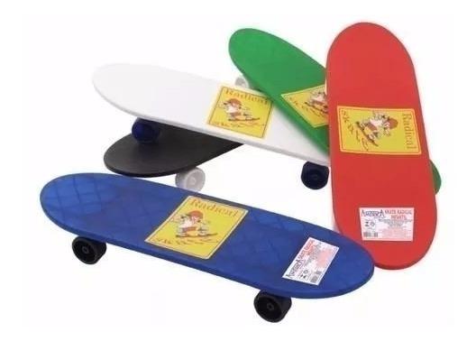 Skate Radical Infantil - Ideal P/ Crianças Acima De 6 Anos