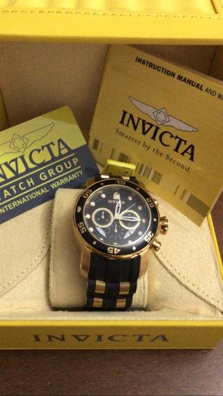 Relógio Invicta Pro Diver Dourado Masculino