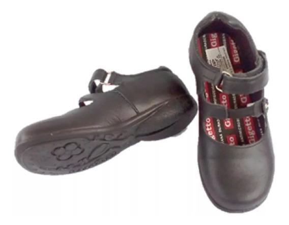 Zapatos Escolares Gigetto Para Niñas Talla 29 Nuevos