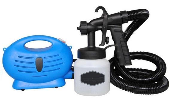 Compresora Portátil Pistola Para Pintar Agua Y Aceite 2 En 1