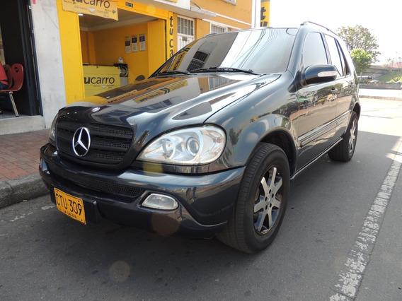 Mercedes Benz Clase Ml 350 3.5cc At Ct Abs Fe Blindada