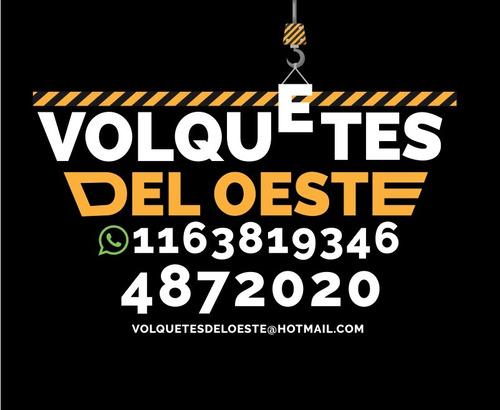 Imagen 1 de 3 de Alquiler De Volquetes En Zona Oeste Moreno La Reja P Del Rey