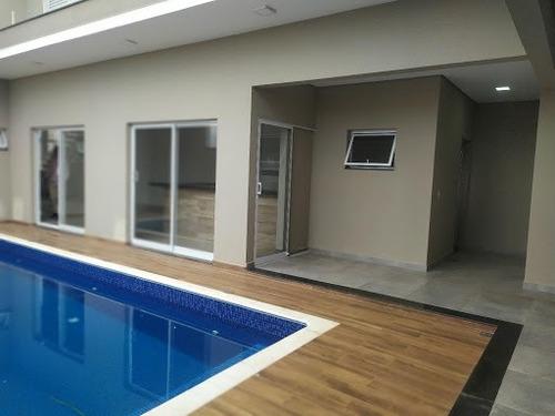 Sobrado Com 3 Dormitórios À Venda, 267 M² Por R$ 950.000,00 - Condomínio Villagio Milano - Sorocaba/sp - So0351