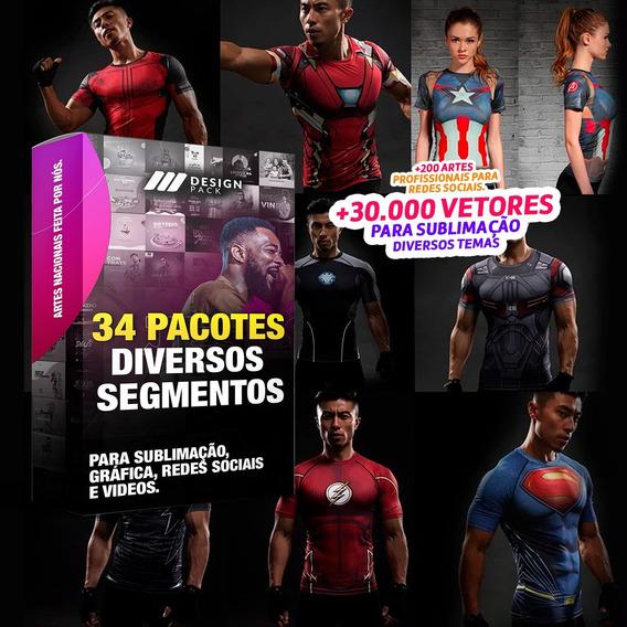 Super Pack Artes Kit Sublimação + Social Media + Bônus