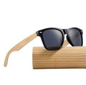 Óculos De Sol Bambu Barcur Original Polarizado Uv400