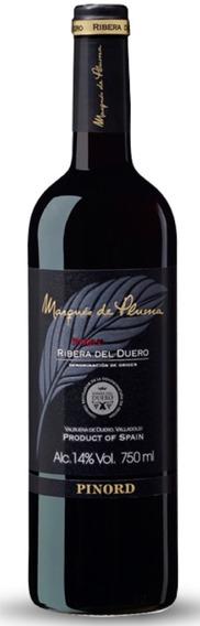 Vino Tinto Marques De Pluma Roble Ribera Del Duero 1 Pz* (f)