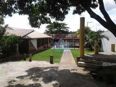 Chácara Residencial À Venda, Chácara Meu Cantinho, Monte Mor. - Ch0030
