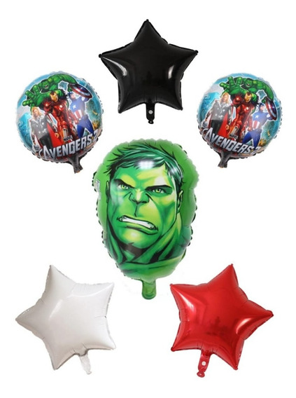 Set Globos Hulk