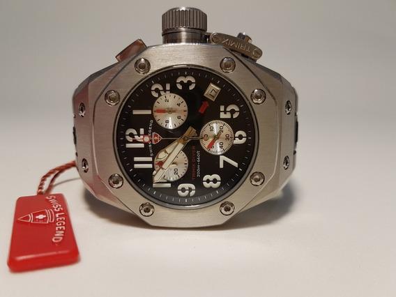 Relógio Masculino Swiss Legend Trimix Diver
