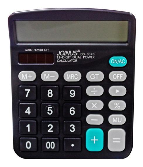 Calculadora Eletrônica 12 Dígitos Joinus Com Grande Display