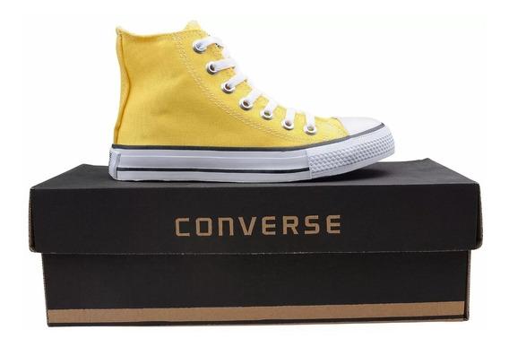 Tênis Converse All Star Cano Alto Original Amarelo