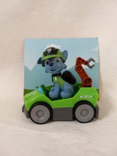 Muñeco Paw Patrol Mission Paw - Rocky - Cabeza Articulada